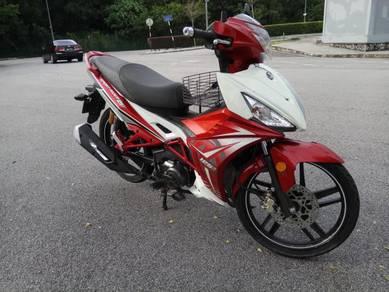 2016 Sym Sport Rider 125cc Fuel Injection