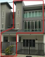 New townhouse in sitiawan / Seri Manjong for rent