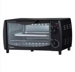 [Promo Raya 7] Midea 10L Oven Toaster MEO-10BDW