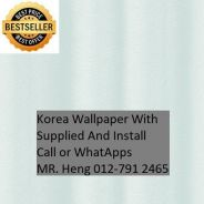 HOToffer Wall paper with Installation fgh454
