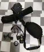 Sony DSLR Alpha 3500 with accessories