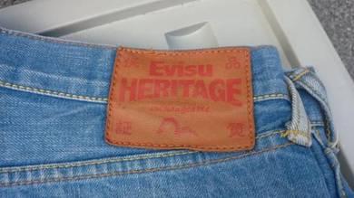 Vtg Evisu Heritage Selvedge