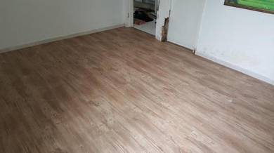Vinyl Floor Lantai Timber Laminate PVC Floor Q345