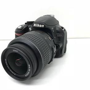 Nikon D3100 w 18-55mm