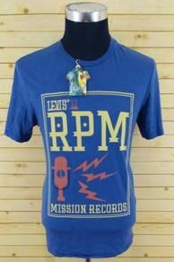 Original t.shirt levis biru size m