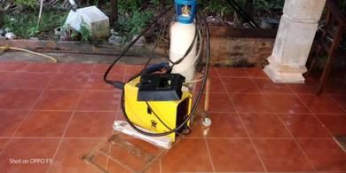 Mig gasless welding, arc,