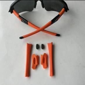 Oakley Flak Jacket Earsock/Nosepad Kit - Orange