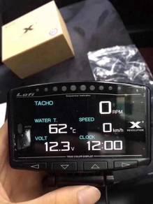 Lufi OBD2 Meter Defi ZD pnp boost meter full range