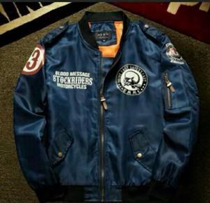 Motorbike Rider Bomber Jacket