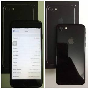 Apple iPhone 7 128GB Jet Black Myset Fullset