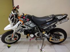 Ksr 100 full modified