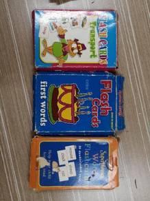 Children Flash Cards & Books