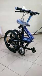 0% GST Disc Basikal Bicycle Folding 20
