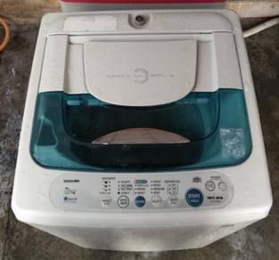 Mesin basuh 7kg toshiba washing machine