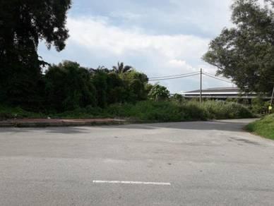 A vacant industrial land for RENT at Klang, Selangor