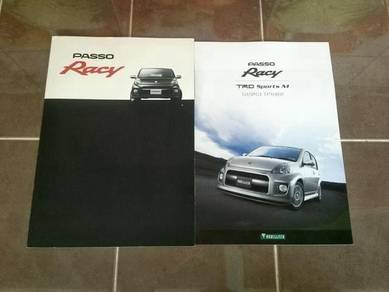 Catalog Original Japan Toyota Passo Racy 09 myvi