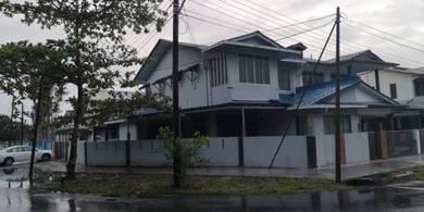 Double Storey Terrace Corner near Sungai Maong Market