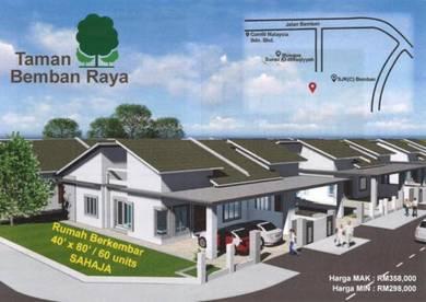 New Development Semi-D, Taman Bemban Raya, Batu Gajah, Perak