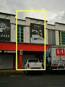 Double storey Commercial shop lot for sale