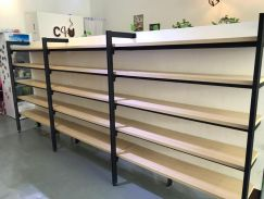 Display Shelves Second Hand Racks