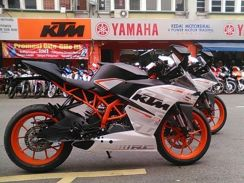 KTM RC390 Super Promosi (Free Apply) Easy Approved