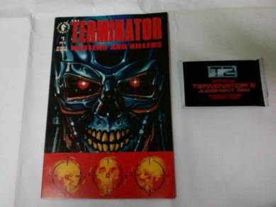 Terminator T2 Trading Cards & Comic not Marvel