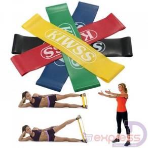 Kiwss resistance band / leg exercise band 10