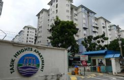 Freehold tasik heights apartment for sale