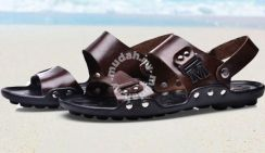 Warrior Dual Use Sandals Slippers Shoes (Brown)
