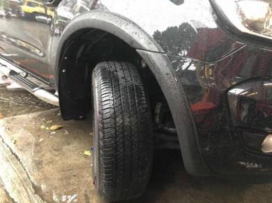 Ford ranger t6 t8 small fender flares flare arch 2