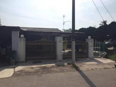 1 storey CORNER 2700sf Taman Pekerti Jeram Kapar Klang