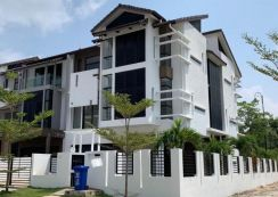 Below Market Value, 3 Storey End Lot, Denai Alam, Shah Alam