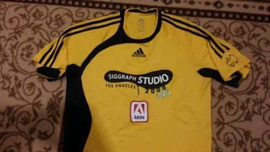 Jersey adidas kuning hitam