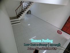Cheapest AAA Taman Perling Low Cost 2-Storey Renovated 3 Bed Skudai JB