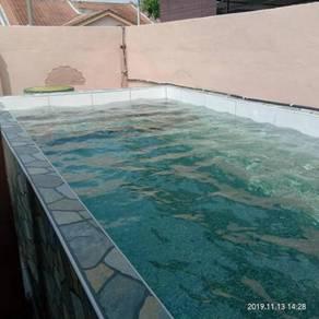 Nailah homestay mini pool