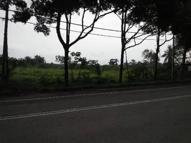 Tanah bukit tepi jalan raya