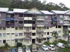 Mutiara Perdana Duplex unit . Renovated. Bayan Lepas .Near Airport