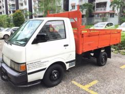 2006 Nissan VANETTE C22 Lorry Pick up Wooden