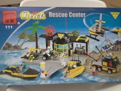 Building block Enlighten 111 Police Rescue Center