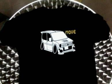 T shirt design PERODUA KENARI n your plate
