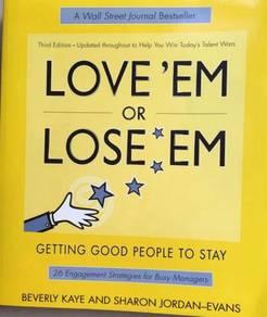 LOVE 'EM or LOSE 'EM People management book