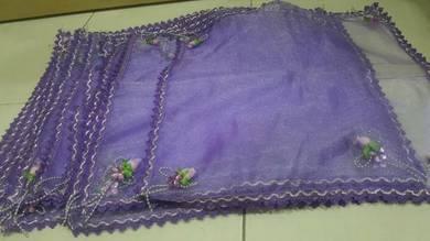 Sewa/beli alas dulang purple utk tunang kahwin