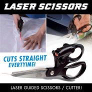 Scissor Laser Guided Scissors Sewing Fabric Paper