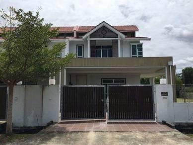 Double Storey Terrace Corner : Sarawak - Miri