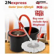 360 Rotating Easy Wring Spin Mop and Bucket