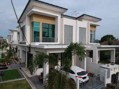 FREEHOLD NEAR MASJID Double Storey Semi D Taman Desa Indah Klang HTAR