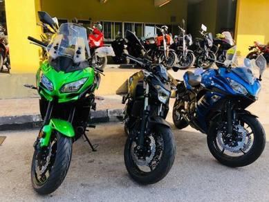Kawasaki Z650 ABS ER6N MT07 SV650X XJ6 SSH