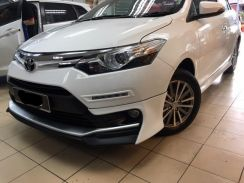 Toyota vios trd bodykit w spoiler n paint body kit