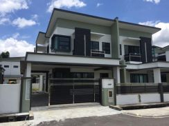 Elegant design Double Storey Semi D at Arang road, KUCHING