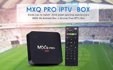(Pro 4k) Mega Fullhd tv Android box decoder iptv